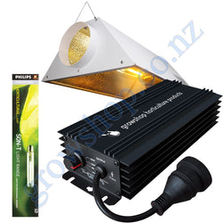 Light Kit 600w GHP Digi Ballast, Son-T Philips HPS Lamp & Air Cooled Gloria Reflector
