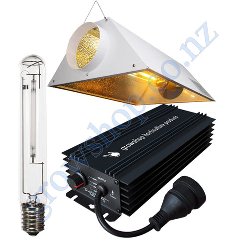 Light Kit 600w GHP Digi Ballast, Super Plant HPS Lamp & Air Cooled Gloria Reflector