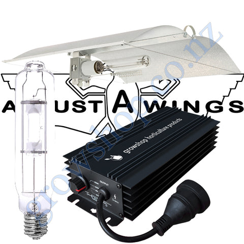 Light Kit 600w GHP Digi Ballast, Metal Halide Lamp & Medium Avenger Adjustawings