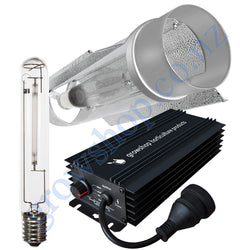 Light Kit 600w GHP Digi Ballast, Super Plant HPS Lamp & Cool Tube 150mm x 620mm