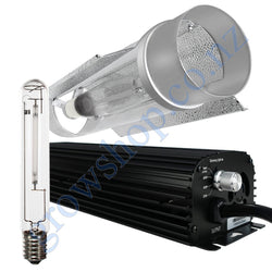 Light Kit 600w Digi Blackline Ballast, Super Plant HPS Lamp & Cool Tube 150mm x 620mm