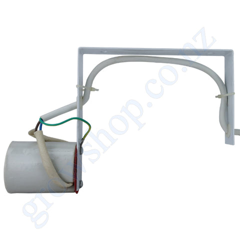 Horizontal Lamp Holder c/w 4 Metre Lead & Round Pin Earth Plug