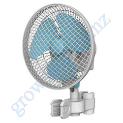Fan 180mm Oscillates 2 Speed Desk - Pole Grip clip