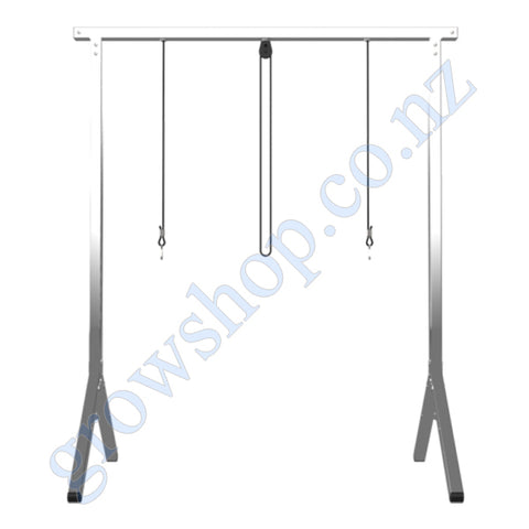 2ft T5 Fixture Stand Stainless Steel
