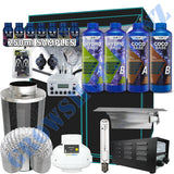 Grow Tent Starter Kit 1.0 Metre - 600w Light Set - 125mm Fan & Carbon