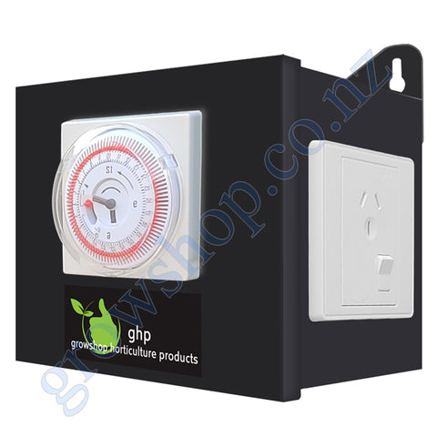 Timer Box 2 Outlet - Heavy Duty Timer and 2 Outlets