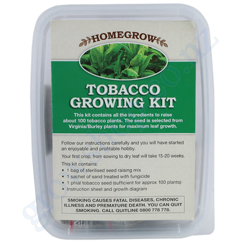 Tobacco Planter Growing Kit
