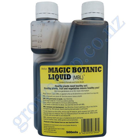 Magic Botanic Liquid Humate & Fulvic 500ml