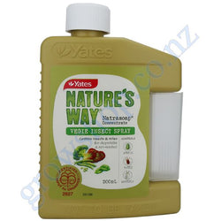 Nature's Way Natrasoap Vegie Organic Concentrate 200ml Yates