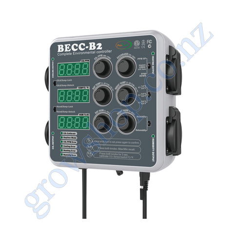 Complete Environmental Controller Cooling-Heating-Humidity-CO2 - Pro-Leaf BECC-B2