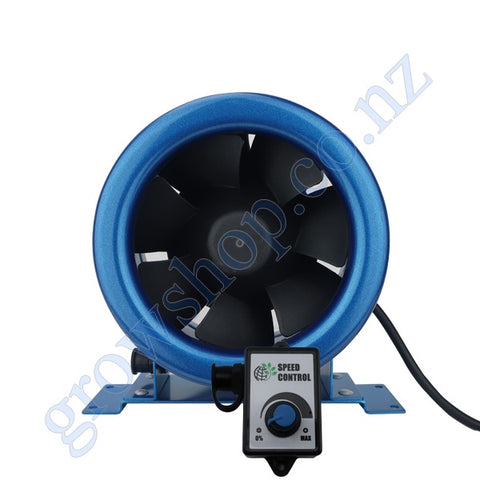 125mm EC Mixed Flow Fan c/w Speed controller - 280 Cubic Metres Per Hour