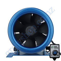 150mm EC Mixed Flow Fan c/w Speed controller - 594 Cubic Metres Per Hour