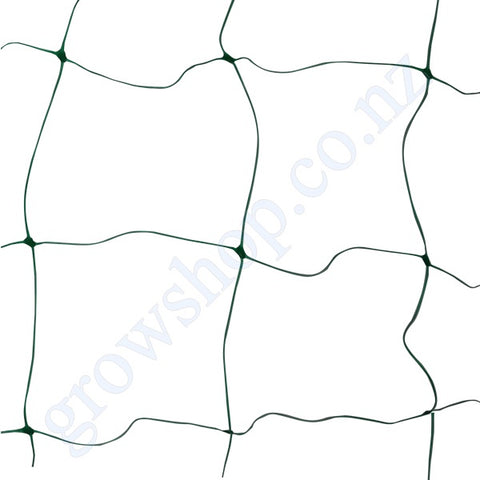 Green Plastic Trellis Netting 6.5ft x 25ft Pack