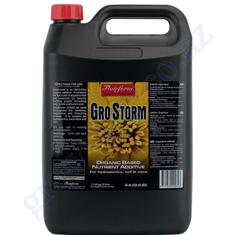 GroStorm 5 litre Flairform