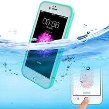 360 degree Full Sealed Waterproof  Bag Cover For iPhone 5 5s SE 6 6s 7 PLUS Swim Diving Cases Touch ID Fingerprint Design
