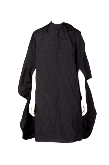 Beautique Designs Hairdressing Poncho Cape Black