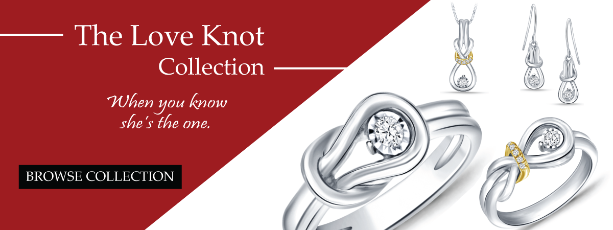 Love knot collection banner