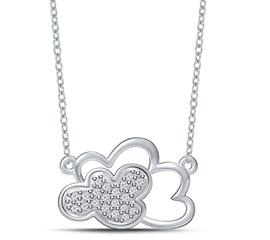 EternalDia Dreamy Clouds Shaped Pendant Necklace - EternalDia