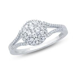 EternalDia Composite Diamond Engagement Ring - EternalDia
