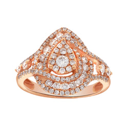 EternalDia 1.1 CT. T.W. Diamond Engagement Ring - EternalDia