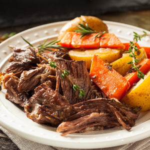 bison chuck roast meat