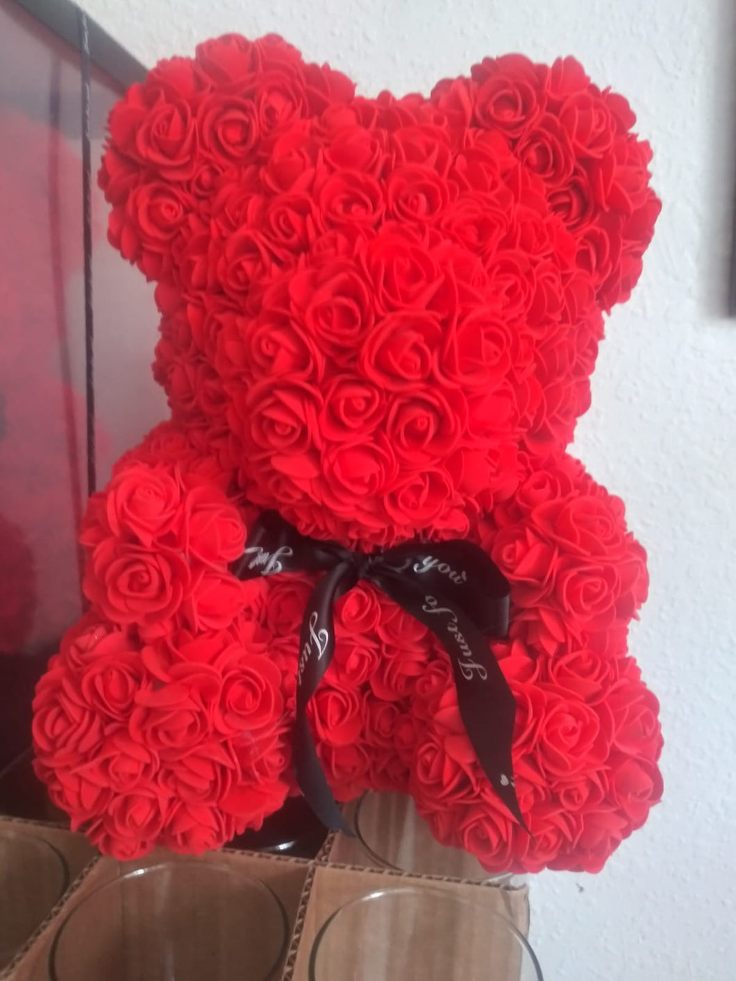 Teddy Bear of Roses (Artificial)