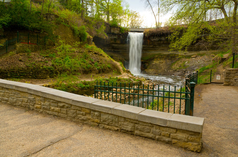 Minneahaha Falls Park Minneapolis