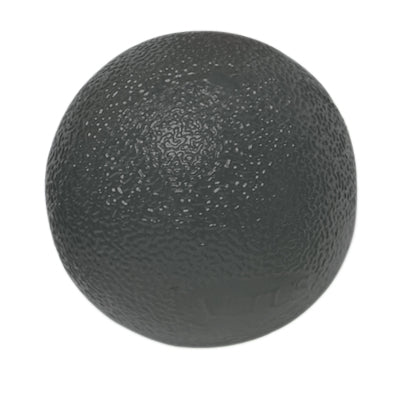 CanDo® Gel Squeeze Ball - Standard Circular - Black Firm