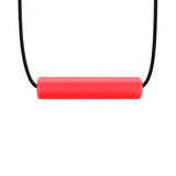 ARK'S KRYPTO-BITE™ CHEWABLE TUBE NECKLACE Red
