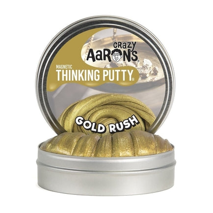 Crazy Aaron's Thinking Putty - Magnetic Gold Rush