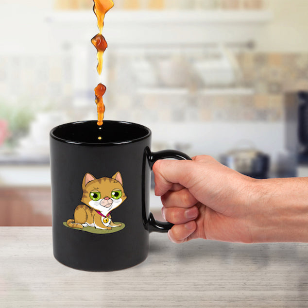 Heat Changing Mug Cat