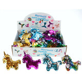 Unicorn Reversible Sequence Key Chain