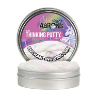 Crazy Aaron's Thinking Putty - Enchanting Unicorn Glow in the Dark