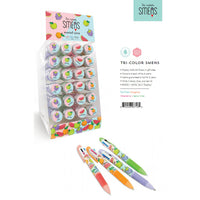 Tri Color Smens - Scented Pens