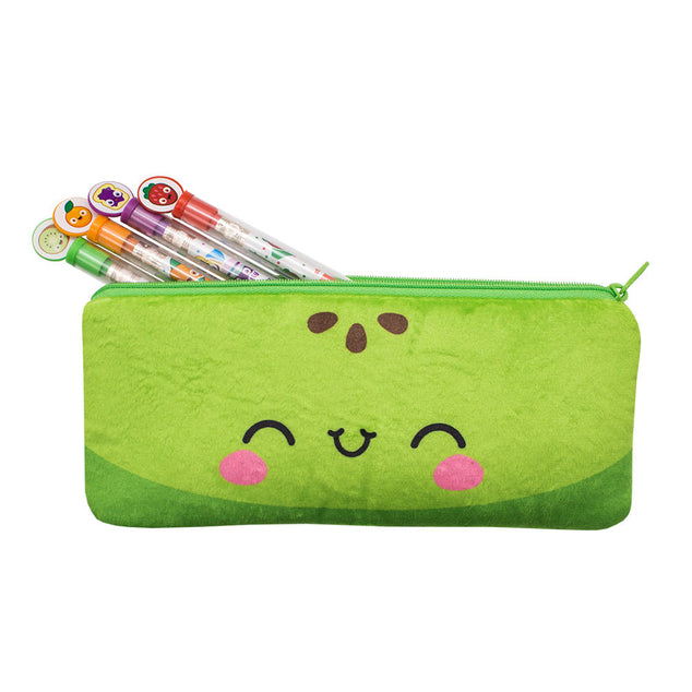 Cutie Fruities Pencil Pouch - Apple Scent
