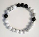Lava Rock Bracelet - Adult