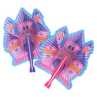 Folding Fan Princess Castle Design