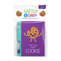 Sketch & Sniff Note Pads w/gel pen Cookie