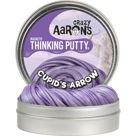 Crazy Aaron's Putty Cupid's Arrow  Super Magnetic 4 inch tin