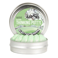 Crazy Aaron's Thinking Putty Mini Tin - Electric Green