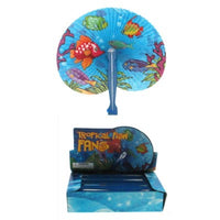 Folding Fan  Tropical Fish Design