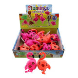 Flamingo Squish Ball Animal