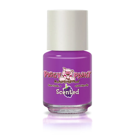 Piggy Paint - Grouchy Grape Scented Nail Polish