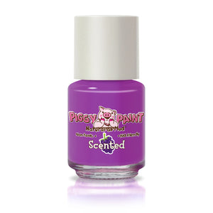 Pippy Paint - Grouchy Grape Scented Nail Polish