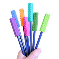 ARK's Brick Stick™ Chewable Pencil Topper - Royal Blue