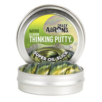 Crazy Aaron's Thinking Putty Mini Tin - Super Oil Slick