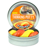 Crazy Aaron's Thinking Putty Mini Tin - Sunburst