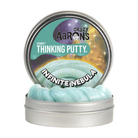 Crazy Aaron's Thinking Putty - Infinite Nebula Cosmic with Glow Charger