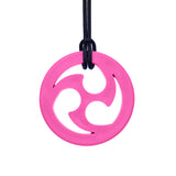 ARK'S NINJA STAR CHEWABLE JEWELRY Pink