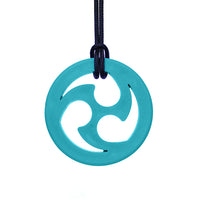 ARK'S NINJA STAR CHEWABLE JEWELRY Teal
